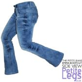 Emma Bootcut Jeans | UK Size 12 | Petite Leg Inseam 25.5 inches